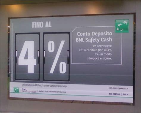 conto deposito nuova conto deposito bnl safety