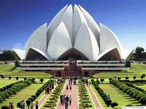 Bahai Lotus Temple Lotus Temple A Baha Is Religion Faith