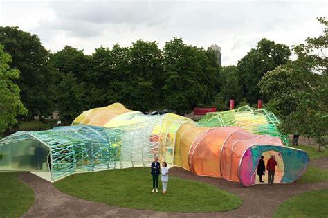 Designboom London | selgascano reveals images of the 2015 serpentine pavilion
