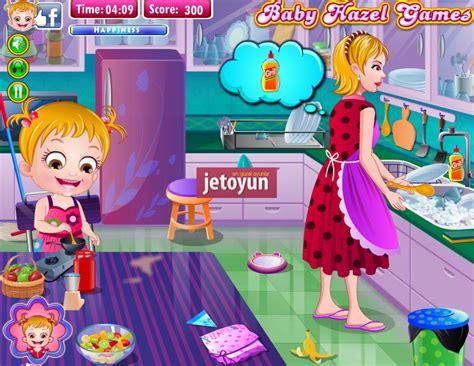 hazel bebek temizlik yapiyor oyunu oyna hazel bebek oyunlari