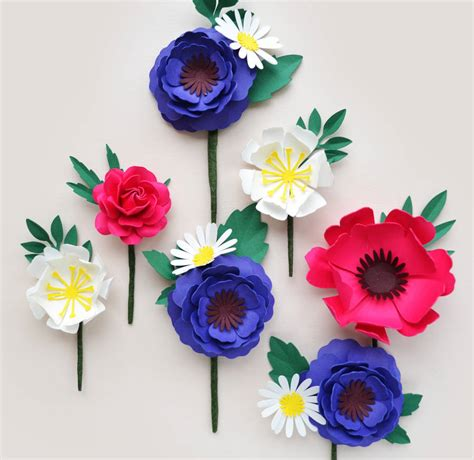 Simple Handmade Paper Flowers - handmade paper flower buttonhole by comeuppance