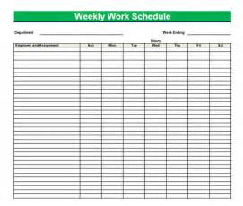 clock schedule template blank time sheets for employees printable blank pdf