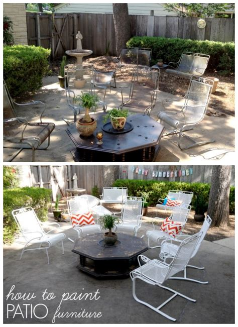 Patio F by Crusty And How To Paint Patio Furniture C R A F T