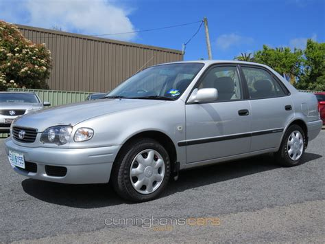 2001 Toyota Corolla Ascent 2001 Toyota Corolla Ascent Sedan In Launceston Tas
