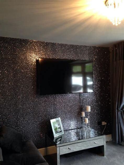 glitter wallpaper room best 25 silver walls ideas on pinterest sparkle paint