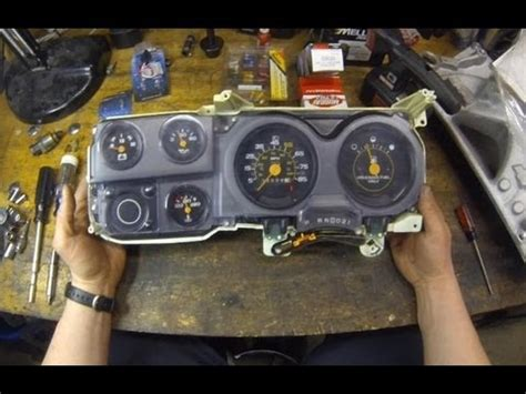 gauge cluster circuit board replacement chevy