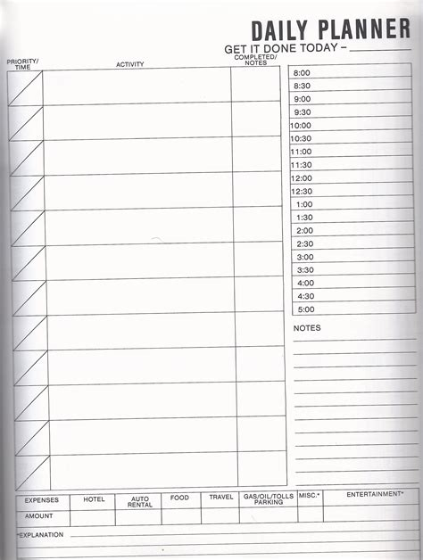Productivity Archives You Are Electric Gtd Paper Planner Templates