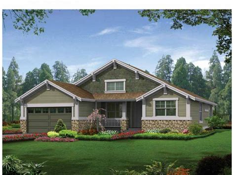 modern craftsman house plans craftsman house plans ranch