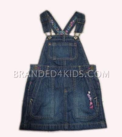 Grosir Dress Tunik Bayi Anak Denim Oshkosh baju anak cewek branded4kids