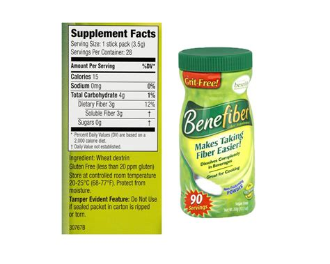 Effects Of Fiber On Stool by Benefiber Vs Metamucil Puresafediet