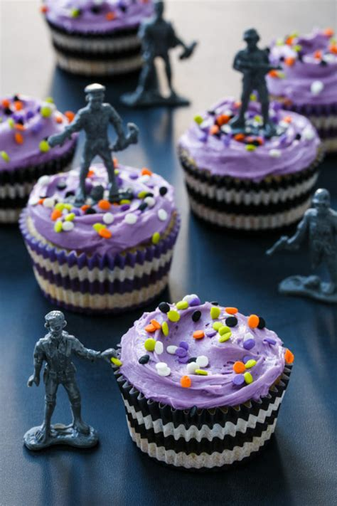 halloween themed cupcakes halloween confetti cupcakes love and olive oil