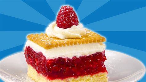 himbeer keks kuchen einfacher himbeer kuchen mit keks ein rezept f 252 r