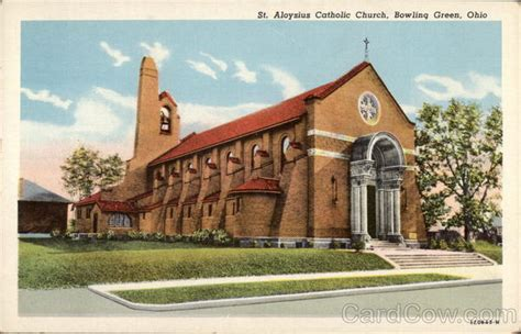 Post Office Bowling Green Ohio by St Aloysius Catholic Church Bowling Green Oh