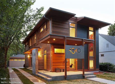 urban house plans with yard modern contemporary home in แบบบ านไม โมเด ร น 2 ช น โปร งสบาย ไทยโมเด ร น 171 บ าน