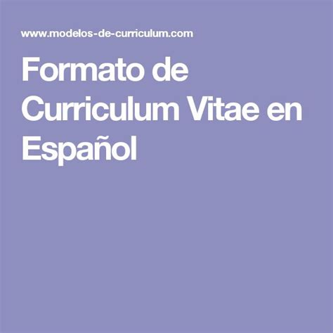 Plantillas De Curriculum Vitae En Word Para Descargar Gratis 25 Best Ideas About Curriculum Vitae Para Descargar On Descargar Curriculum Vitae