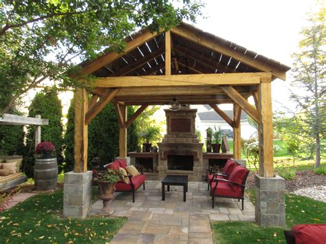 Patio Pergola by Pergolas And Patios River Valley Woodworks