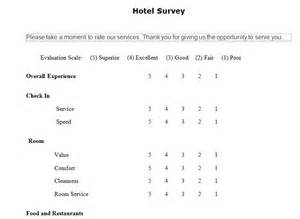 hotel guest survey hotel guest satisfaction survey