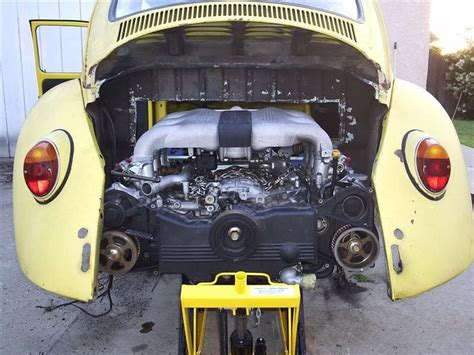 Volks Swap Conversion Pictures 67 Bug W Subaru 3 3l