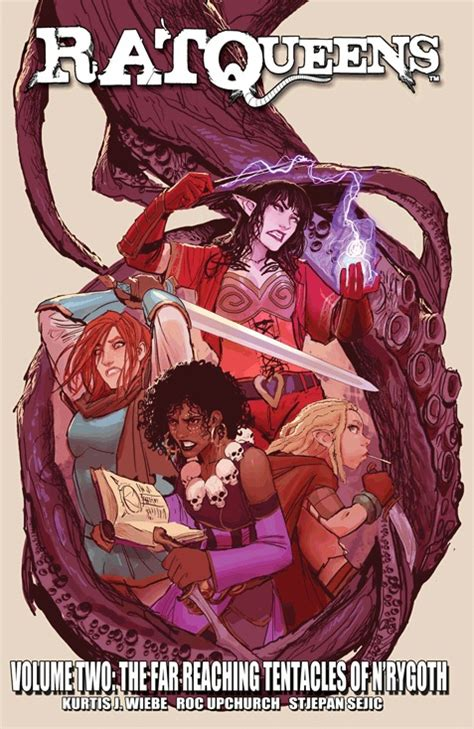 review rat queens volume two the far reaching tentacles of n rygoth the dinglehopper