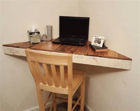 diy corner computer desk best 25 floating corner shelves ideas on