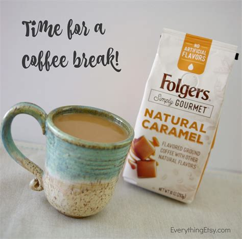 Coffee & Crafts?Take a Break with Folgers Simply Gourmet Coffee