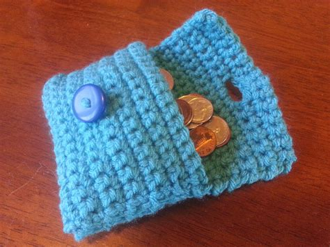 pattern crochet wallet collection of crochet stitches pattern easy coin purse