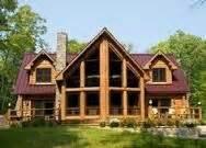 Log Lodge Floor Plans burgundy metal roof k cabin pinterest