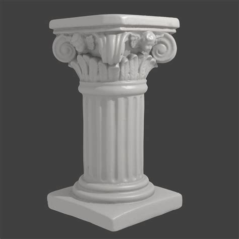 Decorative Top Of A Column by 3ds Max Accurate Scan Decorative Column
