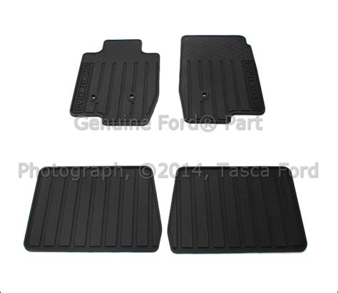 Sport Trac Floor Mats by New Oem All Weather Vinyl Floor Mat Kit 2007 2010