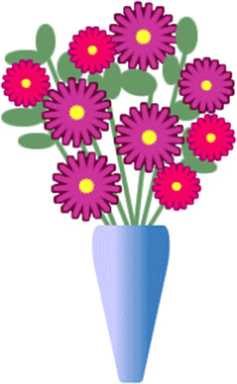 Vase Of Flowers Clipart by Free Clipart