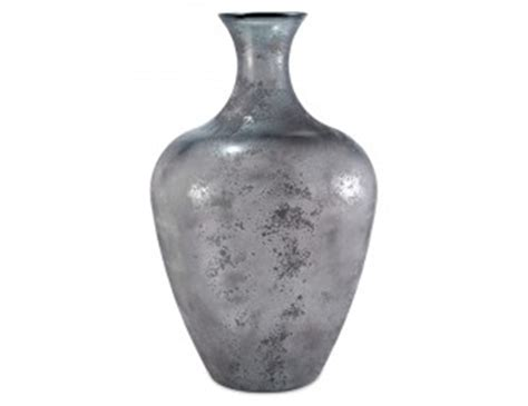 Gray Vases by Steinhafels Large Grey Floor Vase
