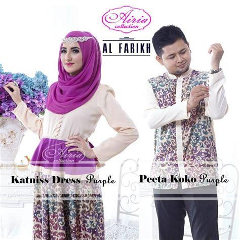 Airia Soft Purple Koko City Dress gaun muslim modern gaun pesta muslim katnis dan peeta koko purple pusat busana gaun pesta