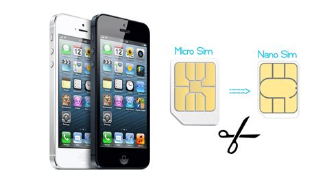 iphone 5 template for sim card iphone 5 how to convert micro sim card into nano sim card