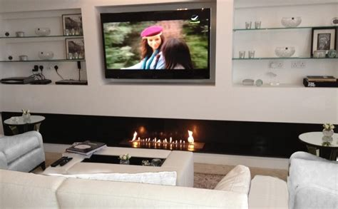 High Tech Modern Fireplace & Smart Contemporary Hearth