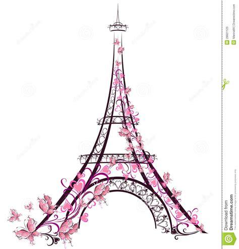torre eiffel par 237 s francia ilustraci 243 n del vector