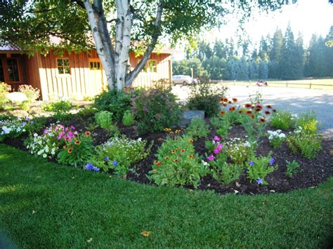flower beds turfcare landscaping in sandpoint idaho