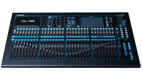 Mixer Allen Heath Qu 24 allen heath qu 32 38 in 28 out digital mixer ebay