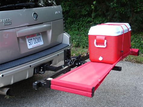 hitch bench tailgate bench tailgating ideas