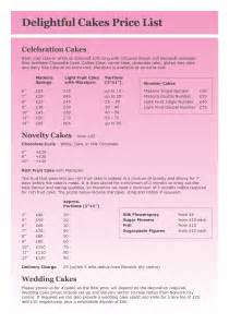 Cake Price List Template by Best Photos Of Template Sheet Cake Sheet Cake Cutting