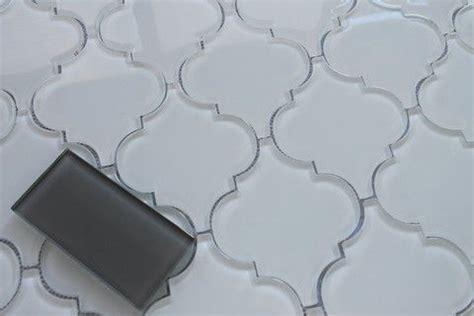 snow white arabesque glass mosaic tiles kitchen snow white arabesque glass mosaic tiles rockypoint tile