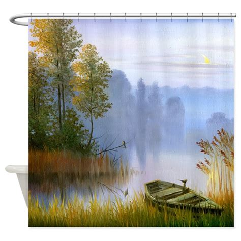 painting shower curtain beautiful summer painting shower curtain by showercurtainshop