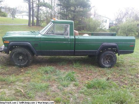 jeep j4000 for sale 1972 jeep j4000 truck 1