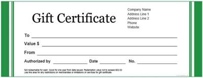 free word gift certificate template custom gift certificate templates for microsoft word