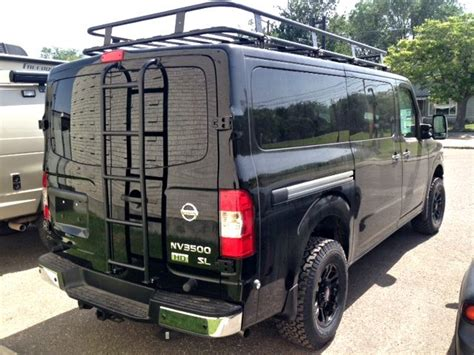Nissan Nv Roof Rack aluminum road roof rack for a nissan nv aluminess