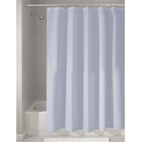 water repellent fabric shower curtain interdesign mildew free water repellent fabric shower