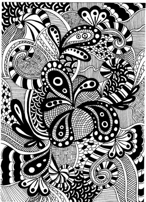 black pattern sketch zentangle les cr 233 ations de tatahari