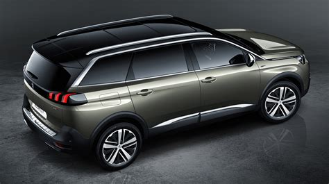 mpv car 2017 2017 peugeot 5008 revealed goodbye mpv hello suv image