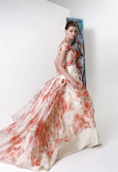 abito da sposa a fiori abiti da sposa a fiori