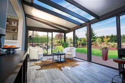 foto veranda photos de v 233 randa de luxe en bois et aluminium alix