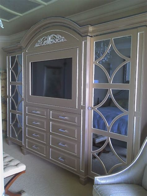 custom wall units naples fl mediterranean bedroom